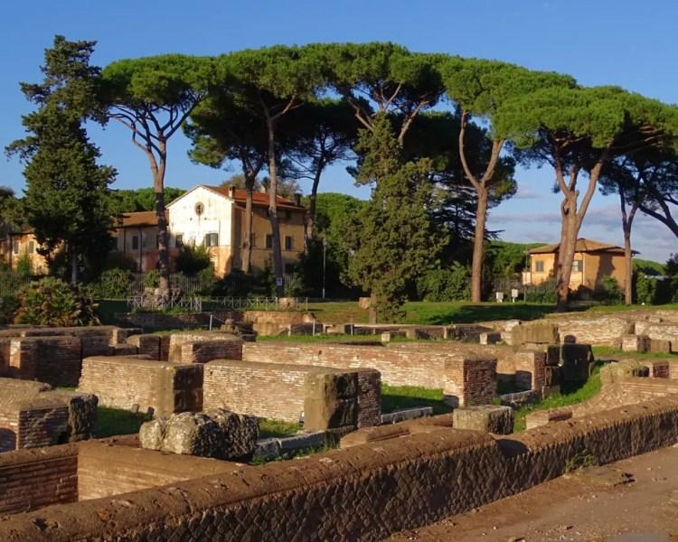 Italy - Ostia Antica - Canva