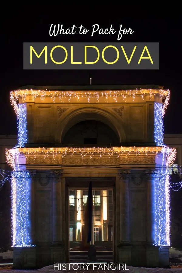 What to pack for Moldova: a Moldova Packing List for Women & Men