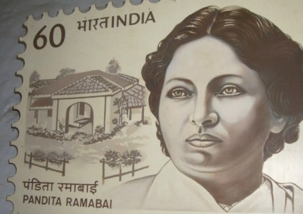 Pandita Ramabai Sarasvati was an activist and a feminist. She had done many great works for women rights and education