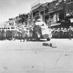 On 23 April 1930 at the Qissa Khwani Bazaar in Peshawar, many non-violent Khudai Khidmatgar were killed in Qissa Khwani Massacre.