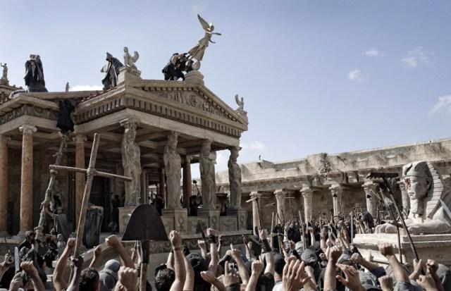 The destruction of the Serapeum