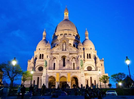 paris. sacre coeur