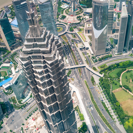 The Jin Mao Tower