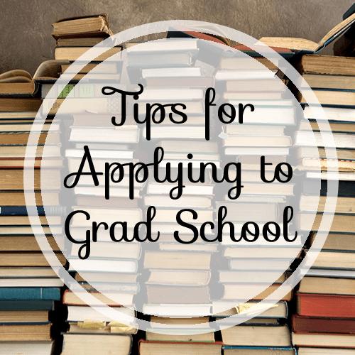 application for grad school