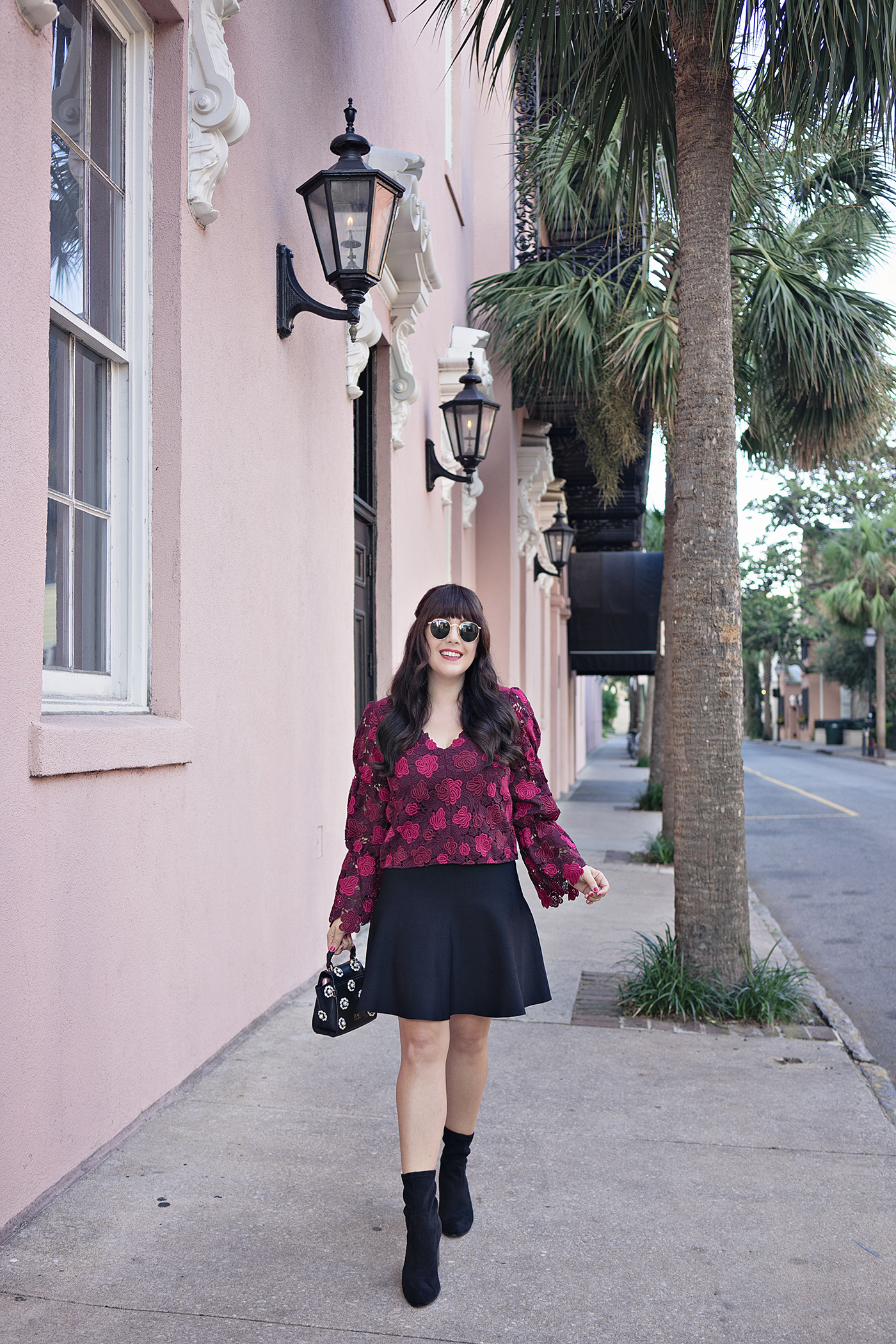 Club Monaco Lace Top in Charleston