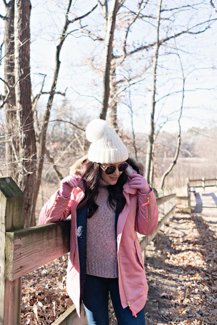 Bundled in Pink in Indiana