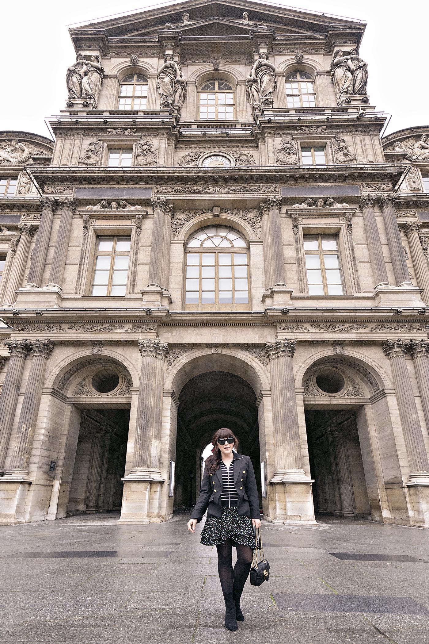 History in High Heels, Paris, Louvre