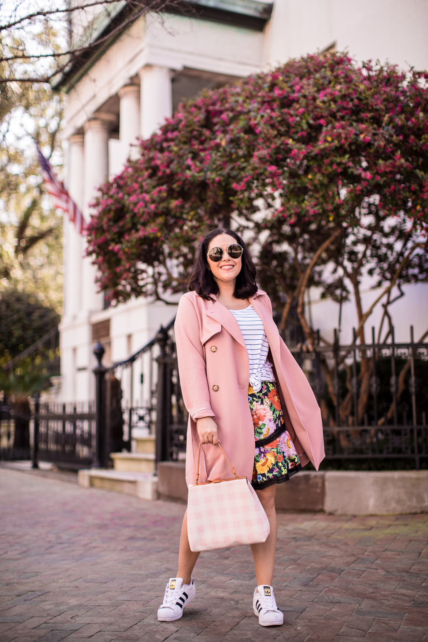 Abercrombie Pink Trench