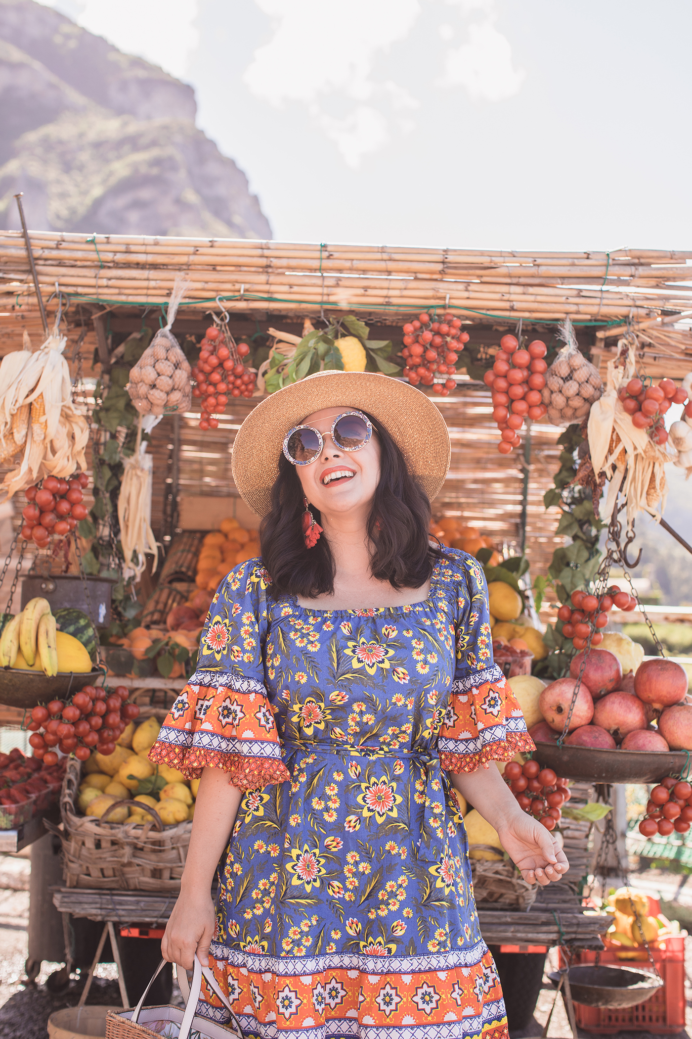 The Perfect Travel Dress in Positano
