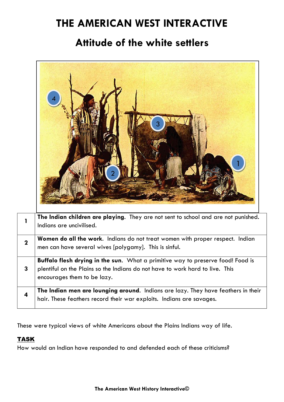Gcse Shp History The American West