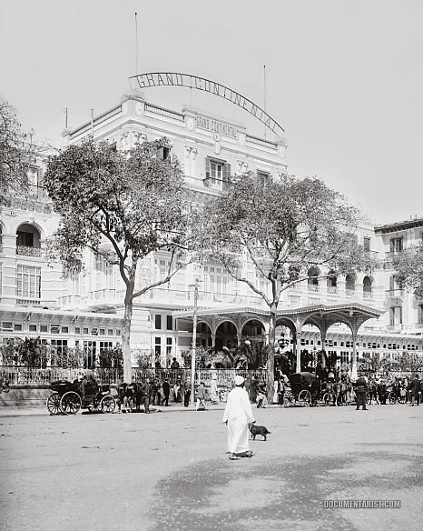 Check Out What Grand Continental Hotel Looked Like  in 1900