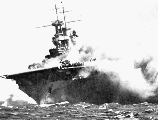 What Did  USS Wasp Look Like  77 Ago