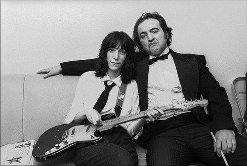 What Did Patti Smith and John Belushi Look Like  in 1976