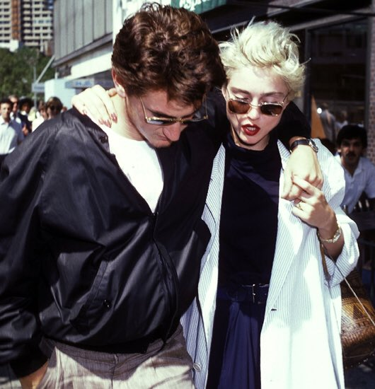 Fascinating Historical Picture of Sean Penn with Madonna in 1986