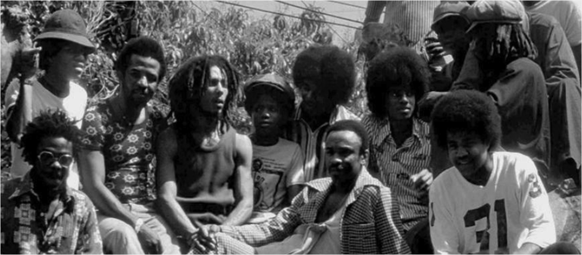 Fascinating Historical Picture of The Wailers on 5/1975