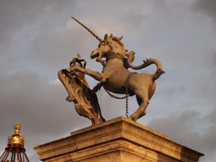 Unicorn at Hampton Court Palace