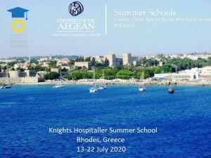Knights Hospitaller Summer School Rhodes