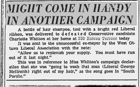 When addresses were more public. Ottawa Citizen, April 1, 1958.