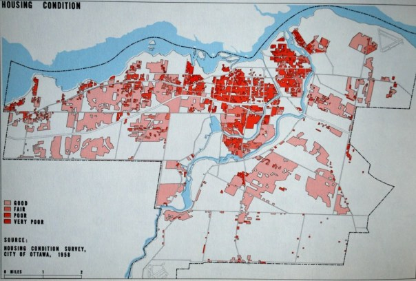 Centretown was considered to be awash in poor-quality housing.