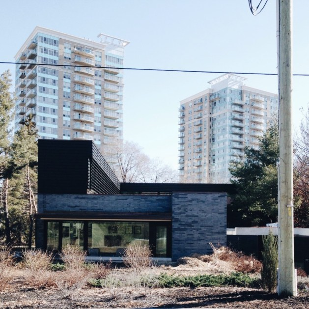 203 North River Road is a real modern beauty. April 2014.