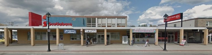 451 Brant today. The midcentury style lasts. Source: Google Street View, 2014.
