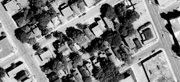 1991 Aerial. Source: geoOttawa.
