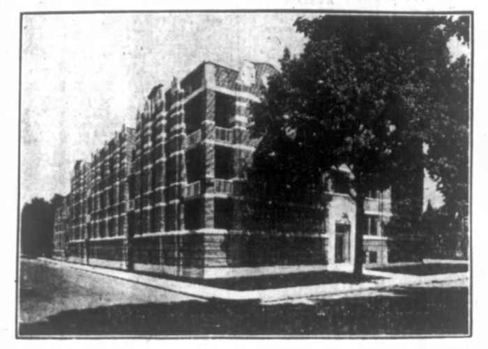The photo that accompanied the advertisement for Chamberlin Manor. Source: Ottawa Journal, July 18, 1931, p. 12.