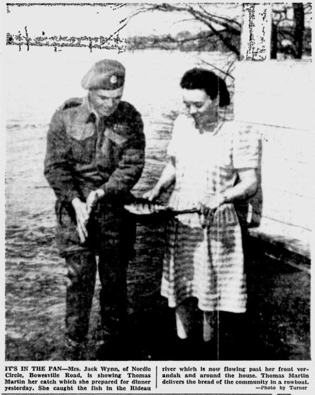 Supper's on. Source: Ottawa Citizen, April 11, 1947, p. 13.