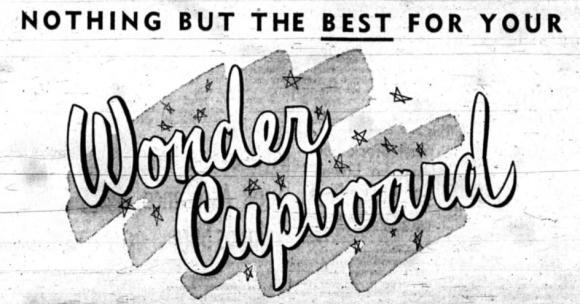 George S. Murray's Wonder Cupboard! Source: Ottawa Journal, November 6, 1954, p. 4.