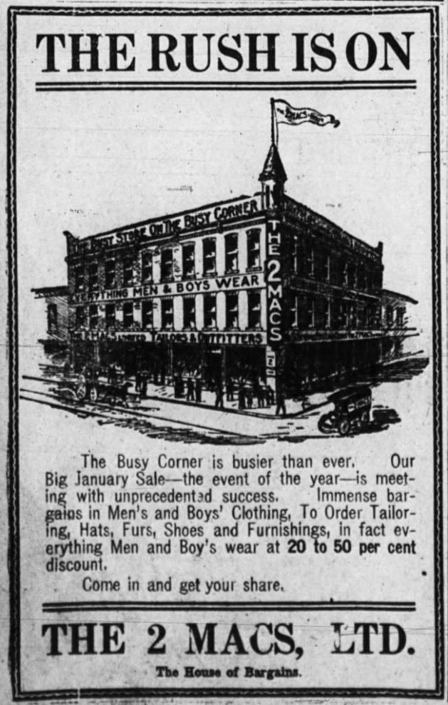 Ottawa Journal, January 8, 1910, p. 4.