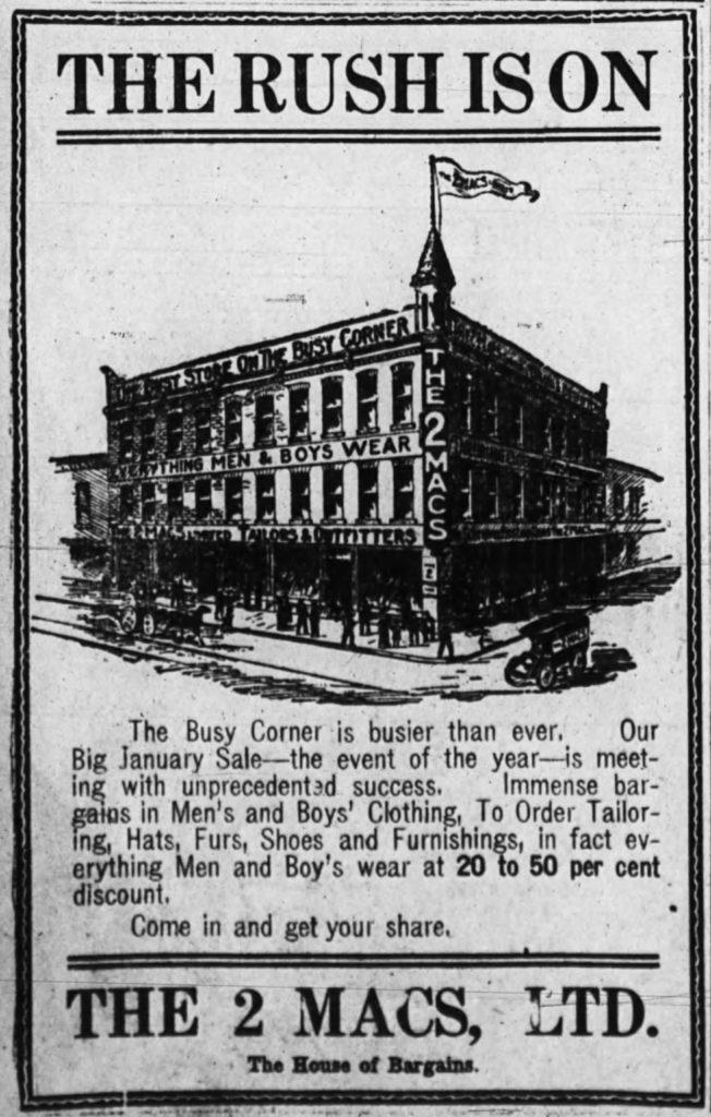Ottawa Journal, January 8, 1910, p. 4.