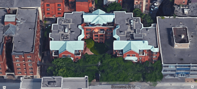 Somerset Court, 30 years in. Image: Google Maps.