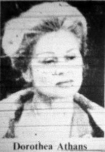 Dorothea Athans in 1980. Image: Ottawa Citizen, October 22, 1980, p. 3.