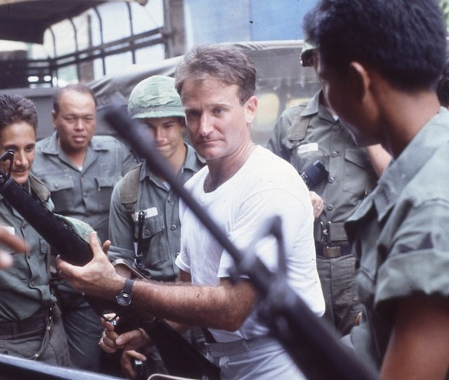 On The Set Of Good Morning Vietnam With Robin Williams