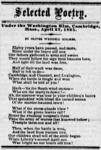 BELMONT CHRONICLE 16 May 1861