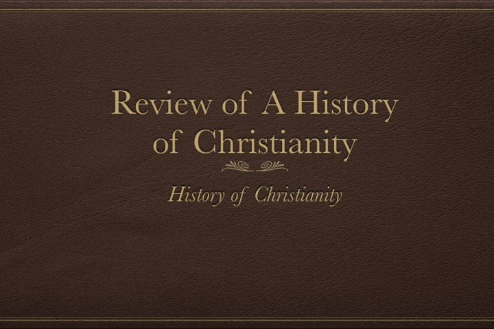 History of Christianity
