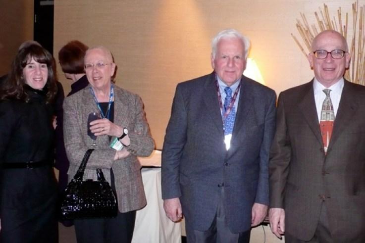 Jennifer Parish, Carol Goldsmith, Lowell Goldsmith, Lawrence Parish