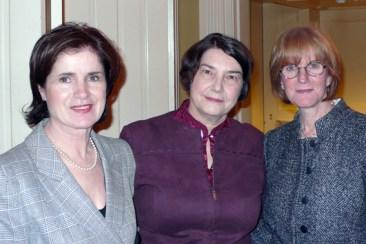 Anne Powell, Anne Black, Sheila Parish