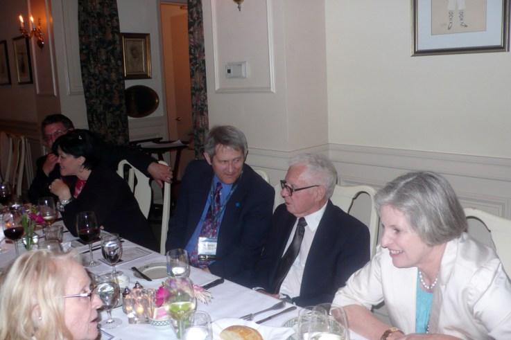 Robert Thomsen, Charles Steffen, Diane Benedetto