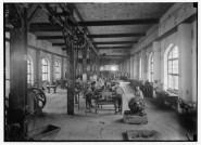 Apprentices in workshops of Hebrew Technical Institute, Haifa, ca. 1920–33