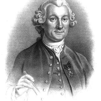 Figure 1Pehr Wilhelm Wargentin (1717–1783). Engraving by Otto Henrik Wallgren, after original by Carl Friedrich Brander. Wikimedia Commons.