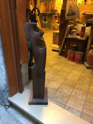 Forcolaio Matto wooden ore lock