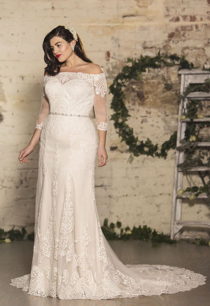 Vintage Wedding Dresses For Curvy Brides