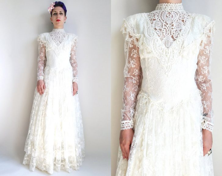 Vintage Jessica Mcclintock Wedding Dresses