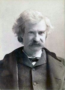 "Samuel Clemens, who wrote under the pen name ""Mark Twain."""