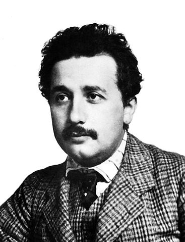 Albert Einstein in 1905.