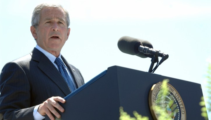 Retrospective: President Bush & The Quiet American