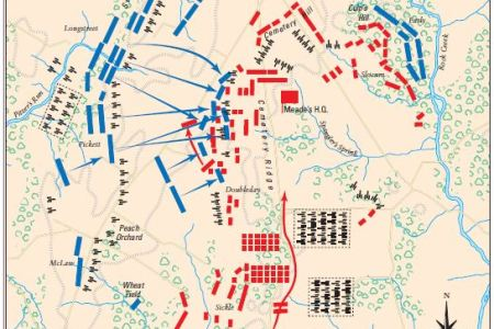 map battle of gettysburg if you like the image or like this post please contribute with us to share this post to your social media or save this post in