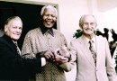 2 Pics: Have you ever wondered why: Nelson Mandela is a Saint/God outside South Africa & Whites are HATED?