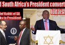 Video & Audio: SA's Whites Worst Enemies: Jews & President Ramaphosa – Did a Black man convert to Judaism?